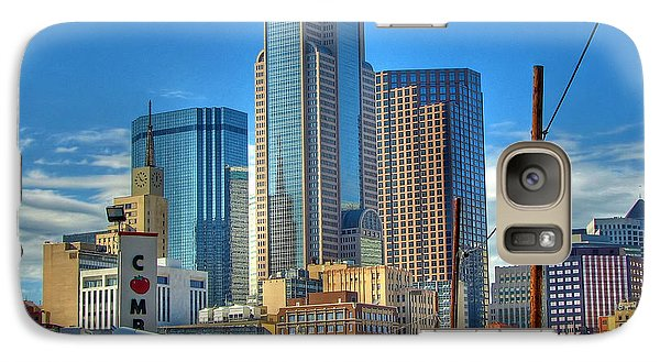 Galaxy Case featuring the photograph Dallas Morning Skyline by Farol Tomson