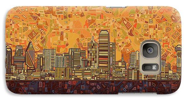 Dallas Skyline Abstract Galaxy S7 Case