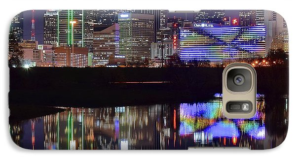 Galaxy Case featuring the photograph Dallas Texas Squared by Frozen in Time Fine Art Photography