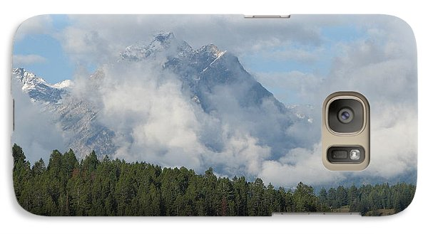 Galaxy Case featuring the photograph Dam Clouds by Greg Patzer