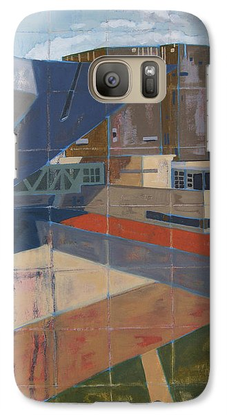 Galaxy Case featuring the painting Dam Museum by Erin Fickert-Rowland
