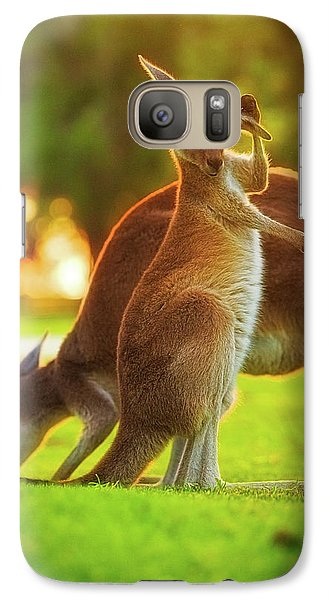Galaxy Case featuring the photograph Damn Flies, Yanchep National Park by Dave Catley
