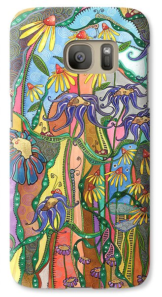 Galaxy Case featuring the painting Dance Of Life by Tanielle Childers