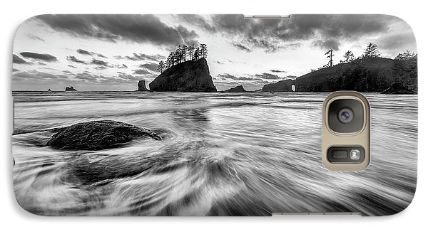 Galaxy Case featuring the photograph Dance Of The Tides by Mike Lang