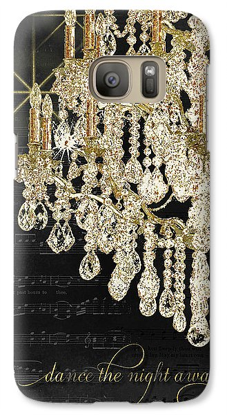 Galaxy Case featuring the mixed media Dance The Night Away 1 by Audrey Jeanne Roberts