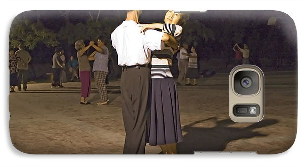Galaxy Case featuring the photograph Dancing Couple by R Thomas Berner