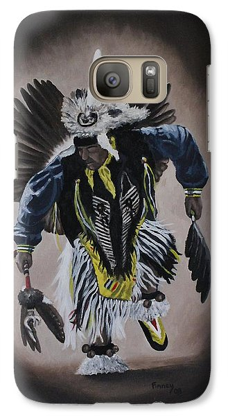 Galaxy Case featuring the painting Dancing In The Spirit by Michael  TMAD Finney