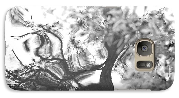 Galaxy Case featuring the photograph Dancing Leaves by Linda Geiger