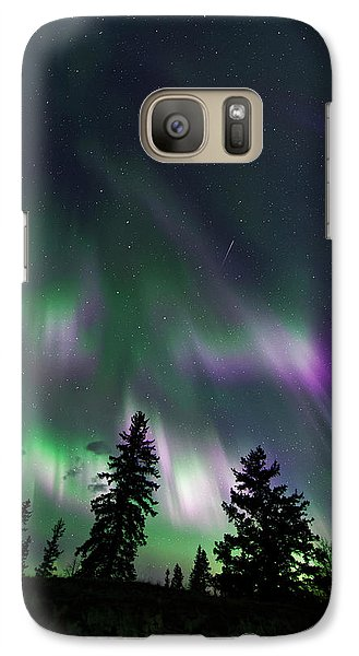 Galaxy Case featuring the photograph Dancing Lights by Dan Jurak