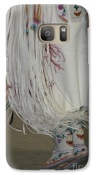 Galaxy Case featuring the photograph Dancing Moccasins by Kate Purdy