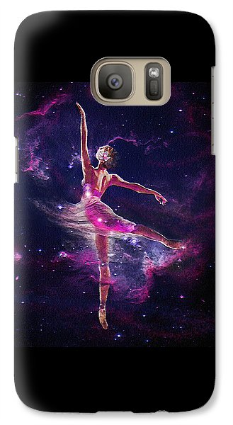 Galaxy Case featuring the digital art Dancing The Universe Into Being 2 by Jane Schnetlage