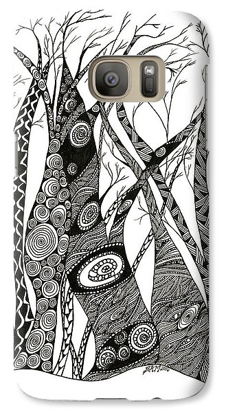 Dancing Trees Galaxy S7 Case