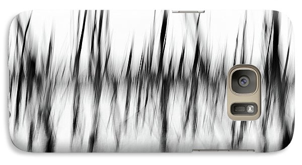 Galaxy Case featuring the photograph Dancing Trees by Darren White