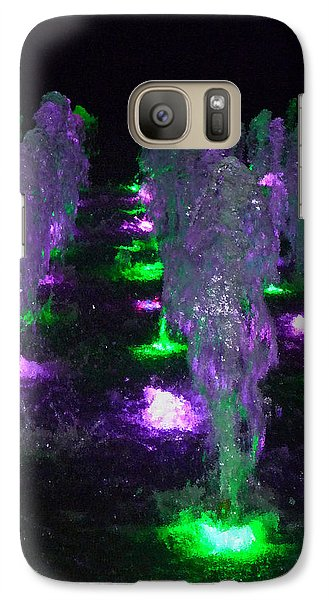 Galaxy Case featuring the photograph Dancing Waters No 3 by Margie Avellino