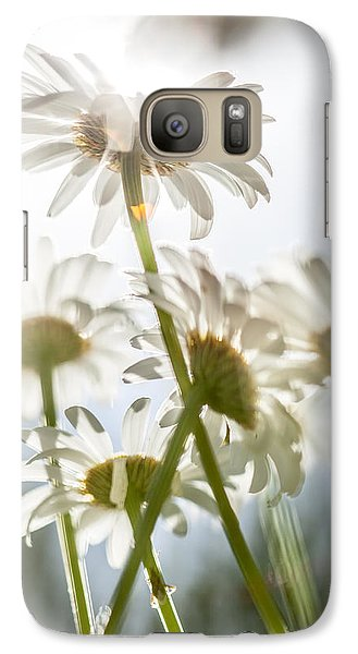 Galaxy Case featuring the photograph Dancing With Daisies by Aaron Aldrich