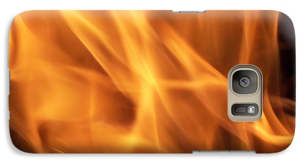 Galaxy Case featuring the photograph Dancing With Fire by Betty Northcutt