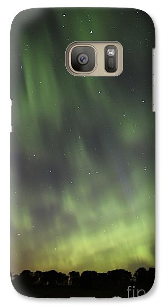 Galaxy Case featuring the photograph Dancing With The Dipper by Larry Ricker