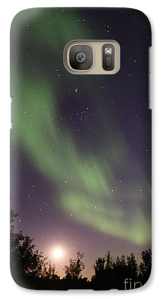 Galaxy Case featuring the photograph Dancing With The Moon by Larry Ricker