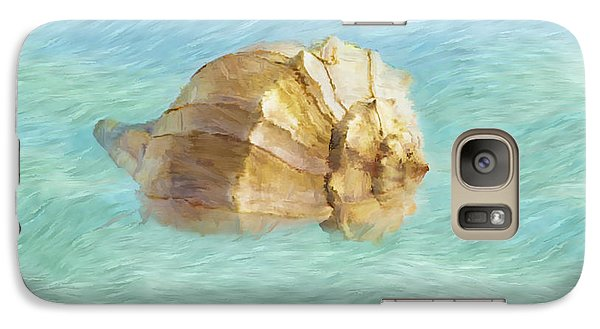 Galaxy Case featuring the photograph Dancing With The Sea by Betty LaRue