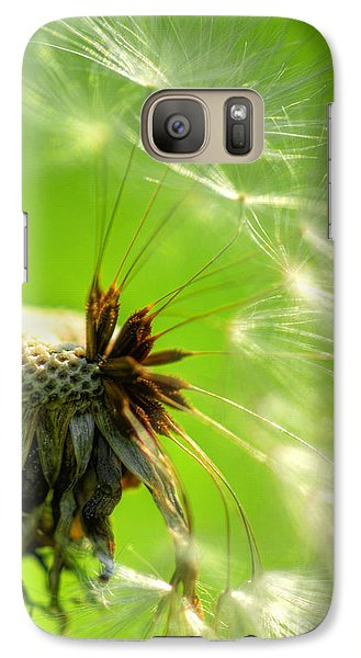 Galaxy Case featuring the photograph Dandelion by Alana Ranney