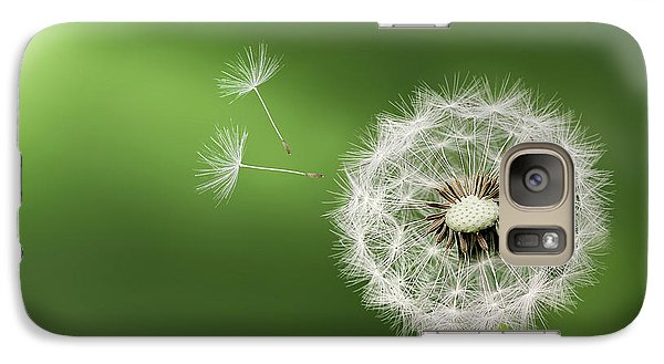 Galaxy Case featuring the photograph Dandelion by Bess Hamiti