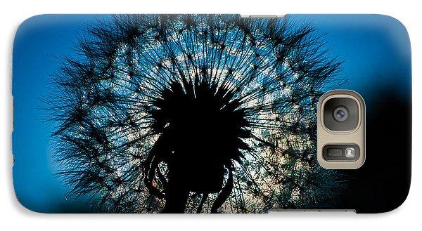 Galaxy Case featuring the photograph Dandelion Dream by Jason Moynihan
