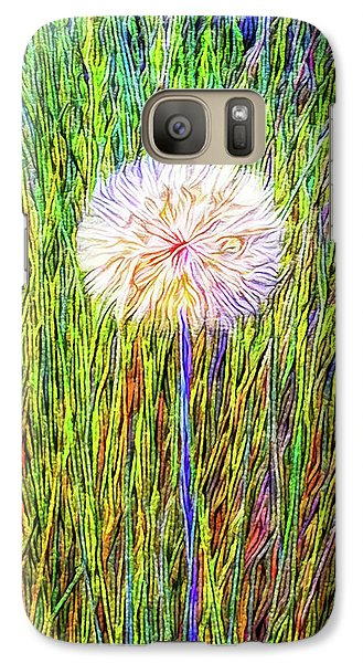 Dandelion In Glory Galaxy S7 Case by Joel Bruce Wallach