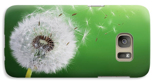 Galaxy Case featuring the photograph Dandelion Seed by Bess Hamiti