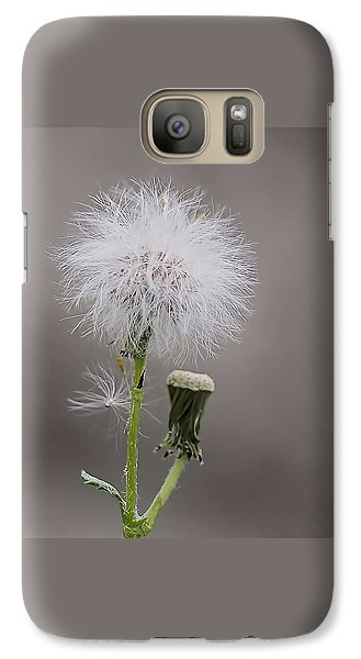 Galaxy Case featuring the photograph Dandelion Seed Head by Rona Black