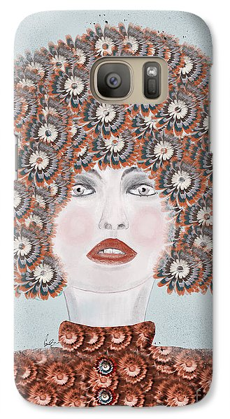 Galaxy Case featuring the painting Dandy Moo by Bri B