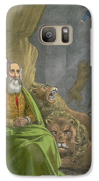 Dungeon Galaxy S7 Case - Daniel In The Lions' Den by Siegfried Detler Bendixen