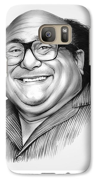 Danny Devito Galaxy S7 Case by Greg Joens