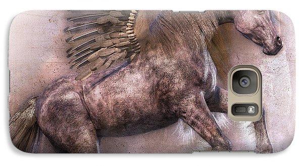 Pegasus Galaxy S7 Case - Dark Angel by Betsy Knapp