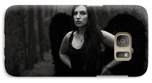 Galaxy Case featuring the photograph Dark Angel by Brian Hughes