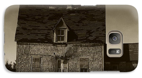 Galaxy Case featuring the photograph Dark Day On Lonely Street by RC DeWinter