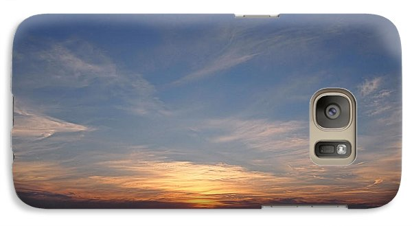 Galaxy Case featuring the photograph Dark Sunrise by  Newwwman
