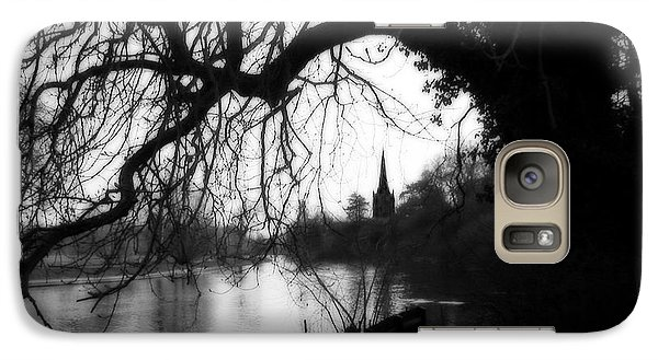 Galaxy Case featuring the photograph Darkness Looms Over The Avon by Sue Melvin