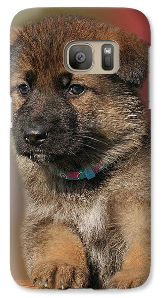 Galaxy Case featuring the photograph Darling Puppy by Sandy Keeton