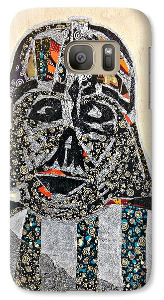 Galaxy Case featuring the tapestry - textile Darth Vader Star Wars Afrofuturist Collection by Apanaki Temitayo M