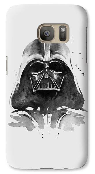 Darth Vader Watercolor Galaxy S7 Case