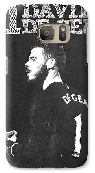 David De Gea Galaxy Case by Semih Yurdabak