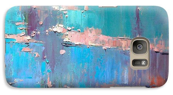 Galaxy Case featuring the painting Dawn by Anastasija Kraineva