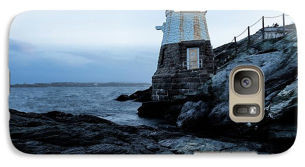 Galaxy Case featuring the photograph Dawn At Castle Hill Lighthouse by Andrew Pacheco