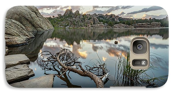 Galaxy Case featuring the photograph Dawn At Sylvan Lake by Adam Romanowicz