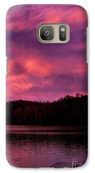 Galaxy Case featuring the photograph Dawn At The Dock by Thomas R Fletcher