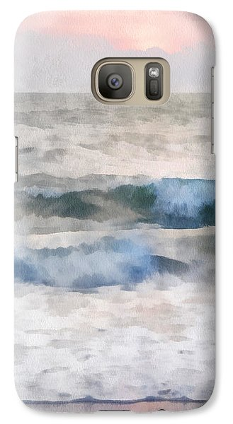 Galaxy Case featuring the digital art Dawn Beach by Francesa Miller