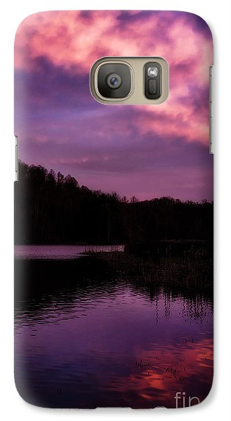 Galaxy Case featuring the photograph Dawn Big Ditch Wildlife Management Area by Thomas R Fletcher
