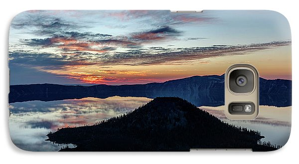 Galaxy Case featuring the photograph Dawn Inside The Crater by Pierre Leclerc Photography