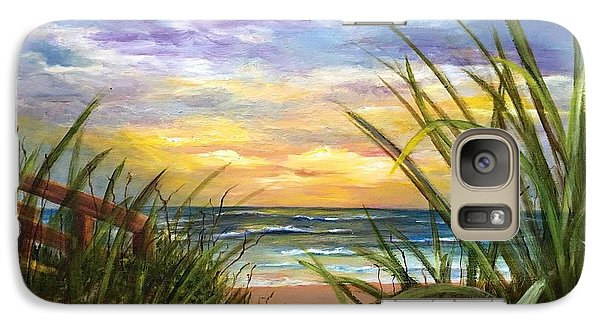 Galaxy Case featuring the painting Dawn Is Breaking  by Susan Dehlinger