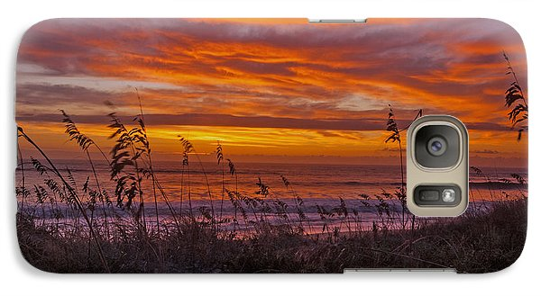 Galaxy Case featuring the photograph Dawn On The Dunes by John Harding